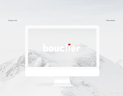 Bouclier | Web design