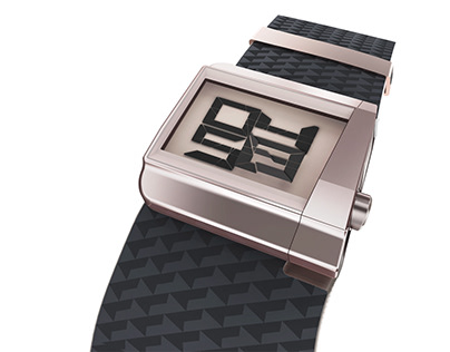 Layer LCD wrist watch concept