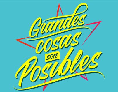 Grandes cosas son posibles