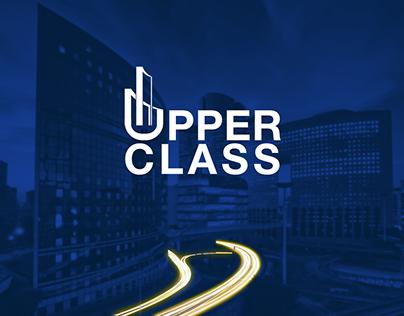 """""""UPPER CLASS"""" LOGO & BRANDING"""