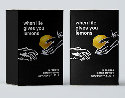 When Life Gives You Lemons: Recipe Card Designs