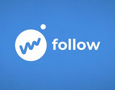 Follow - Animation de logotype