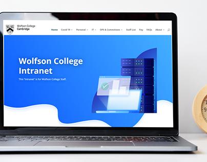 Wolfson College Cambridge Intranet