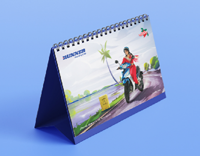 Calendar 2020 : Runner Motorcycles BD