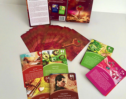 Oracle cards design and packaging