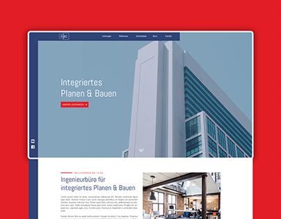 Architecture Website // Construction & Real Estate