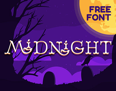 Midnight - FREE DISPLAY FONT