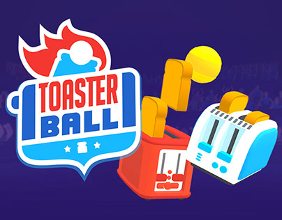 TOASTERBALL - A sport game with toasters!