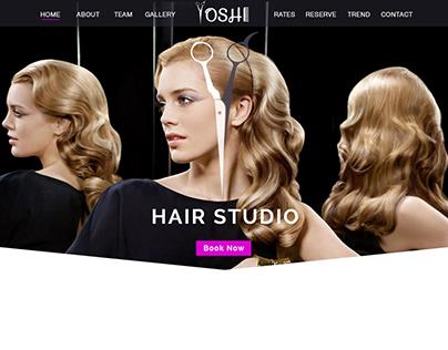 Yoshi Hair Style Studio - Mockup