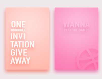 Dribbble Invite Nov. 2015
