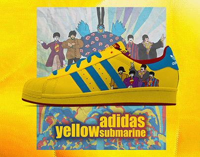 Adidas Superstar | The Beatles - Yellow Submarine