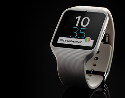 Sony Smart Watch 3 - Product Photography