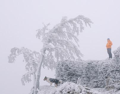 Winter Wonderland at Little Carpathians, Slovakia
