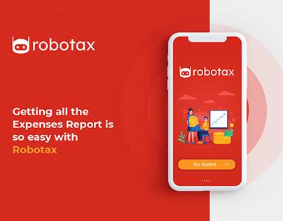 Robotax - Mobile UI/UX Design