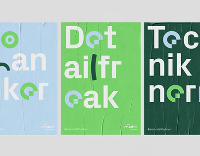 """Visual identity and campaign """"Wir Modellbahner"""""""