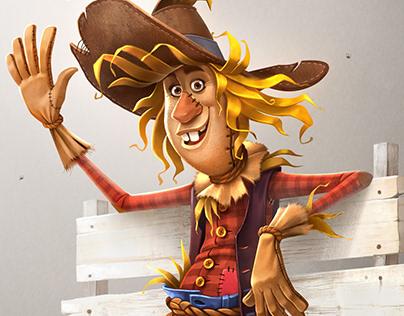 Cliff the Scarecrow