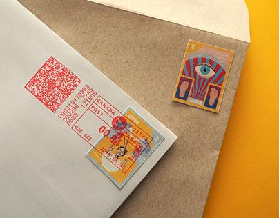 Tadanori Stamps