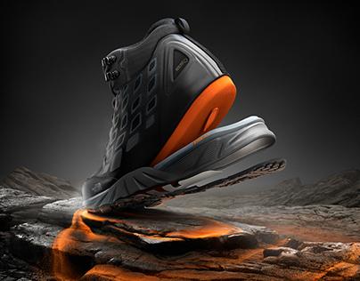 The Northface / Xtra Foam boot