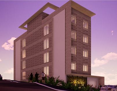 Prédio residencial Floresta. Santa Cruz do Sul - RS