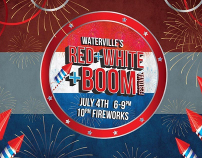 Red, white + boom fliers