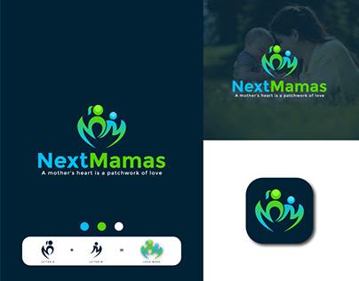 NEXTMAMAS HEALTH CARE LOGO DESIGN