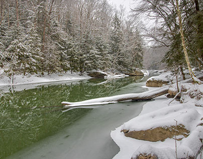 Winter 2020 at McConnells Mill, Portersville, P.A.