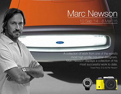 Marc Newson Exhibition Poster