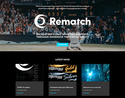 Rematch: Website Design and Build