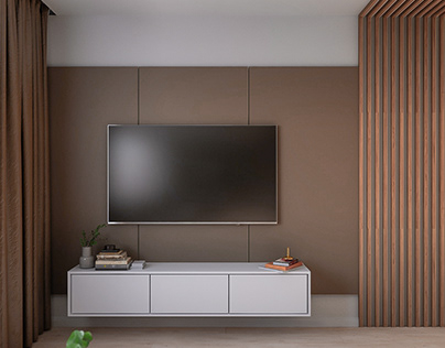 Design and visualization of a studio apartment