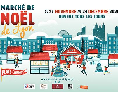 Marché de Noël de Lyon 2020