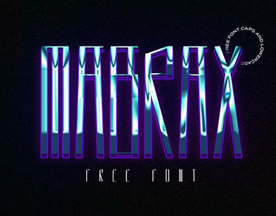 MABRAX - Free Font