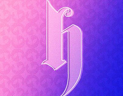 derHarlekin ~ Typeface