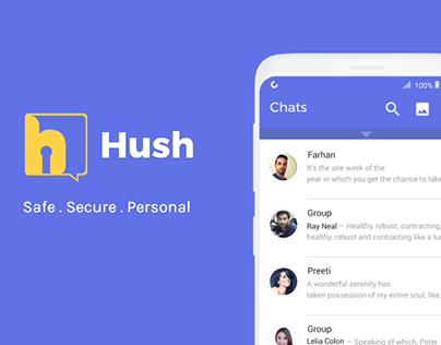 Hush App | Making users in control of their privacy