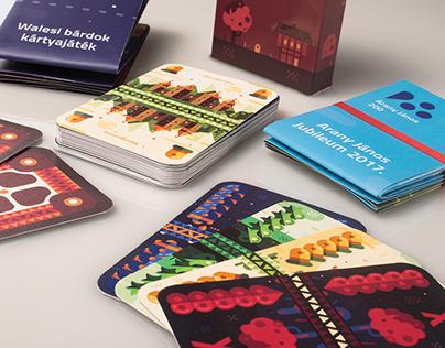 Hungarian Playing Card   AJ200