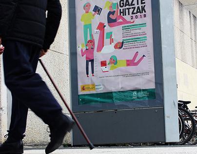 Gazte Hitzak. Concurso de cuentos y relatos breves.