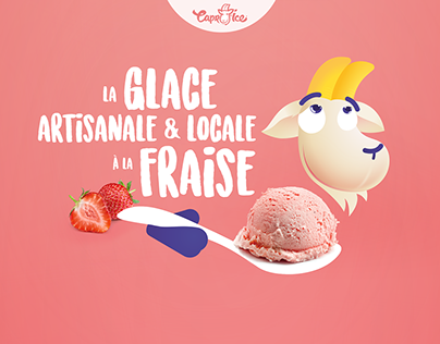 Glace artisanale Capr'ice