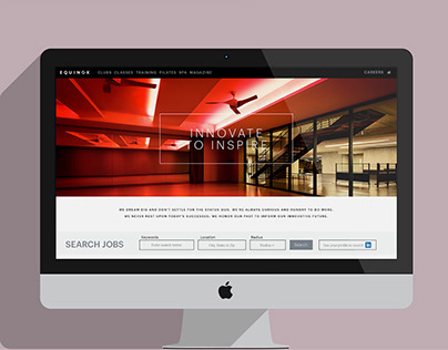 EQUINOX Careers Site