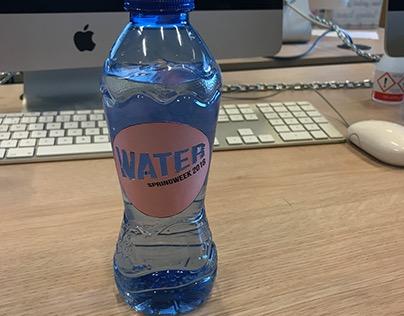 Disc flesje water Packaging & Design