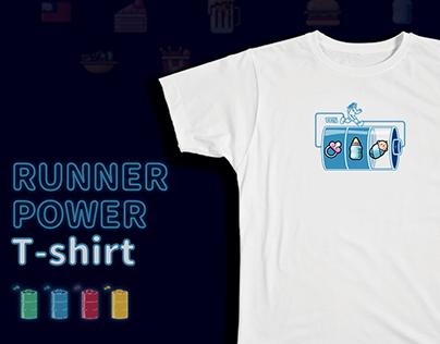 跑者能量T 客製T-shirt