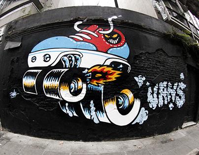Vans Mural 1
