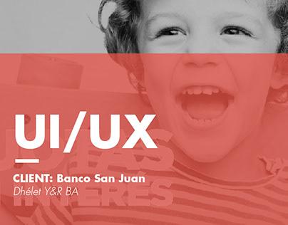 UI/UX Banco San Juan