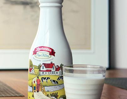 Lactantia - Vintage Milk Bottle Promo