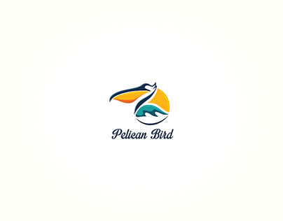 Pelican Bird Logo for sale