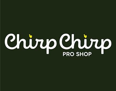 Chirp Chirp Pro Shop - Brand Identity