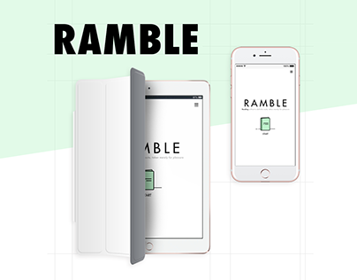 Ramble Microsite for Reading
