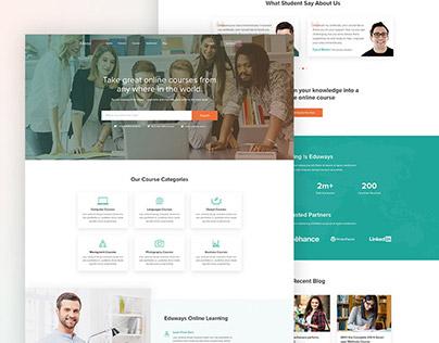 Edways - ELearning Website
