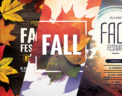 Autumn Poster Designs
