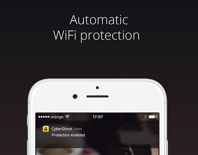 VPN iOS App Page