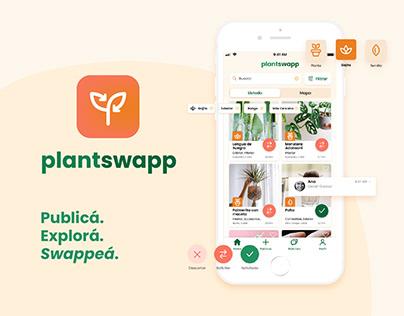 UX/UI Case Study - Plantswapp