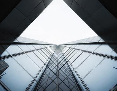 Glass elevation.